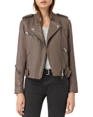 ALLSAINTS Atkinson Leather Moto Jacket | Bloomingdale's