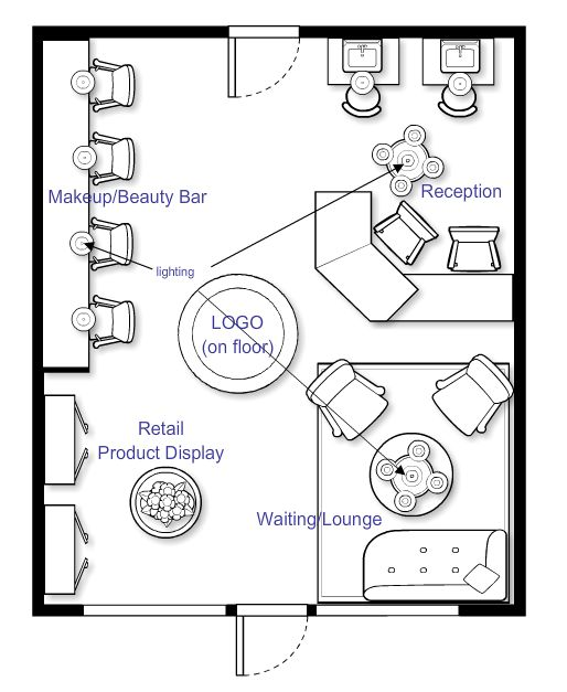 1000 images about salon floor plans on pinterest beauty for Design a beauty salon floor plan