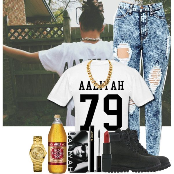 Aaliyah 79, created by goldenlife on Polyvore