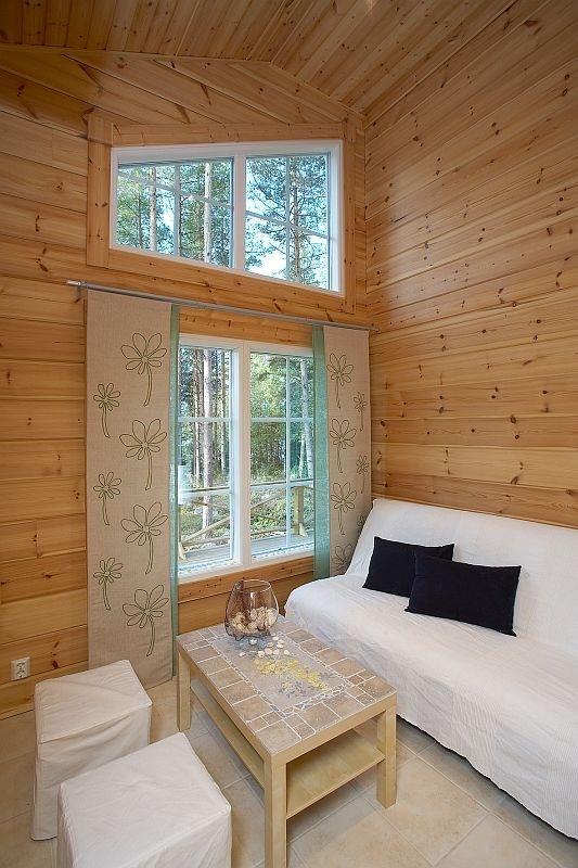 Holiday home KU100 - customer modification - Kuusamo Log Houses
