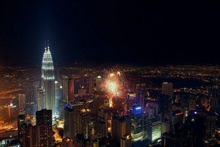 Muslianshah Bin Masrie: This picture captured form Menara Kuala Lumpur during Malaysia Independence Day 2012
