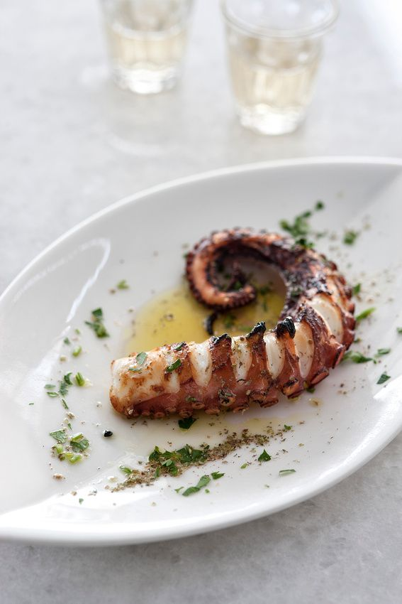 "Food Custom: Grilled octopus is a traditional food choice for the holiday ""Clean Monday"". Clean Monday is a public holiday in Greece and is used to celebrate the first day of Lent. On Clean Monday no one can eat meat or most fish. The rule is nothing with red blood. A good substitute for these foods are octopus. Either grilled or fried are popular ways to cook it."