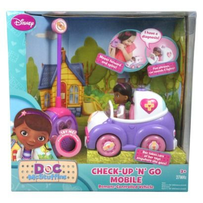 Doc McStuffins Remote Control Car