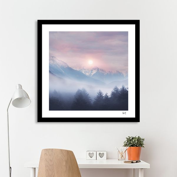 Discover «Pastel vibes 11», Numbered Edition Fine Art Print by Viviana Gonzalez…