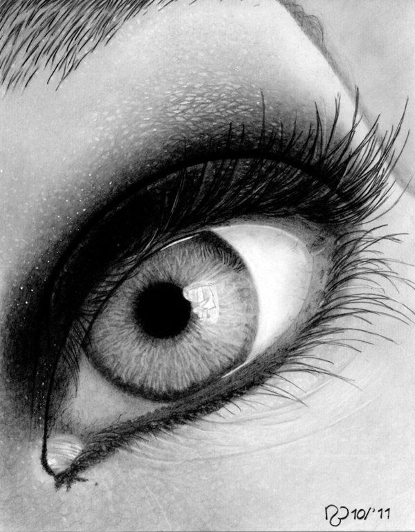Pencil drawing by nathalie bakker