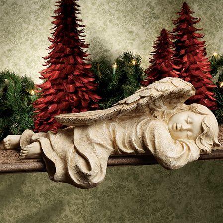 Sleeping Angel Figurine Shelf Sitter Angel Shelves And Figurine