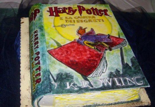 Torte di Grazia Salvia #cakedesign #harrypotter #cakebook
