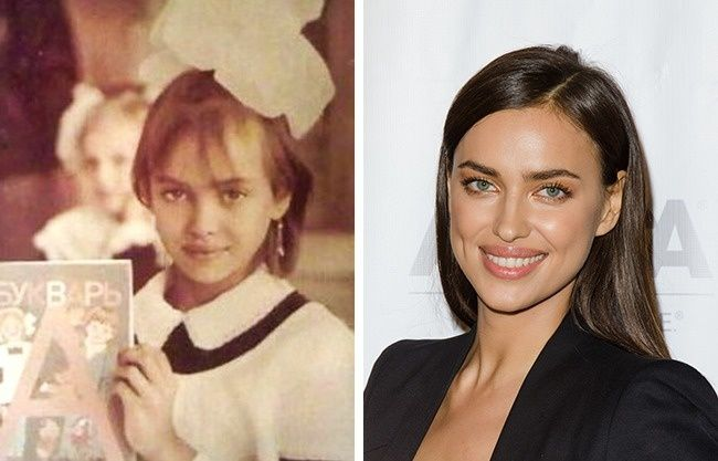 This is what 12 famous models looked like when they were kids