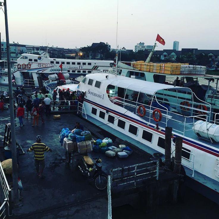 Rach Gia to Phu Quoc ferry terminal  #vietnam #asia #travel #beach #island #phuquoc #wanderlust #phuquocisland #phuquocislandguide