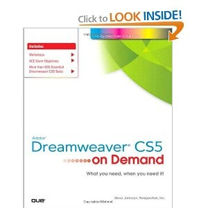 8 best adobe classroom in a book images on pinterest class room adobe dreamweaver cs5 on demand fandeluxe Image collections