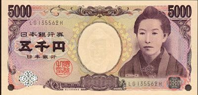 Japan - It's A Wonderful Rife: Japanese Money: Infectious Diseases And The ¥5,000...