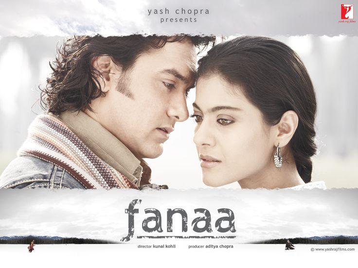 "Fanaa (2006-05-26 Yashraj Films)  Tagline: ""Destroyed in Love"" • prod/dir. Aditya Chopra • dir. Kunal Kohli •writers: Chopra + Shibani Bathija • stars: Aamir Khan (as Rehan Qadri) + Kajol (as Zooni Ali Beg); budget $5.5M, rev $19M (by 2012)   • Wiki:  http://en.wikipedia.org/wiki/Fanaa_(film)  • IMDB:  http://www.imdb.com/title/tt0439662"