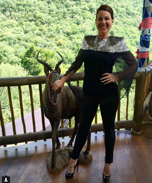 Julia Morris sass and bide cape | wheels and doll baby pants
