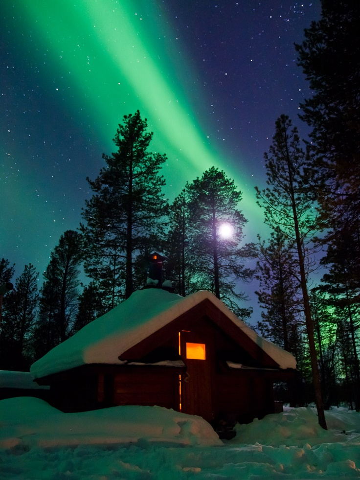 Northern Lights in Finnish Lapland by Flatlight Films