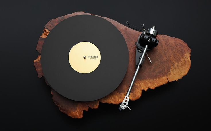 custom redwood turntable by Alejandro Alocer, $10,000~$16,000