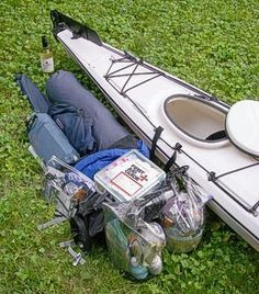 Jeffrey Lee gives some pointers in the fine art of packing your kayak in this article.