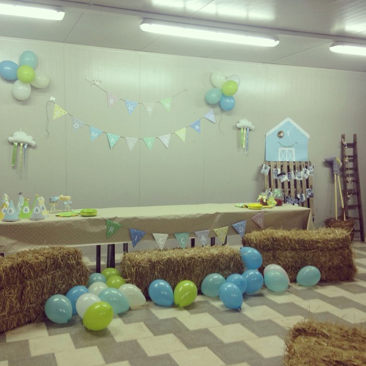 Festa primo compleanno tema fattoria