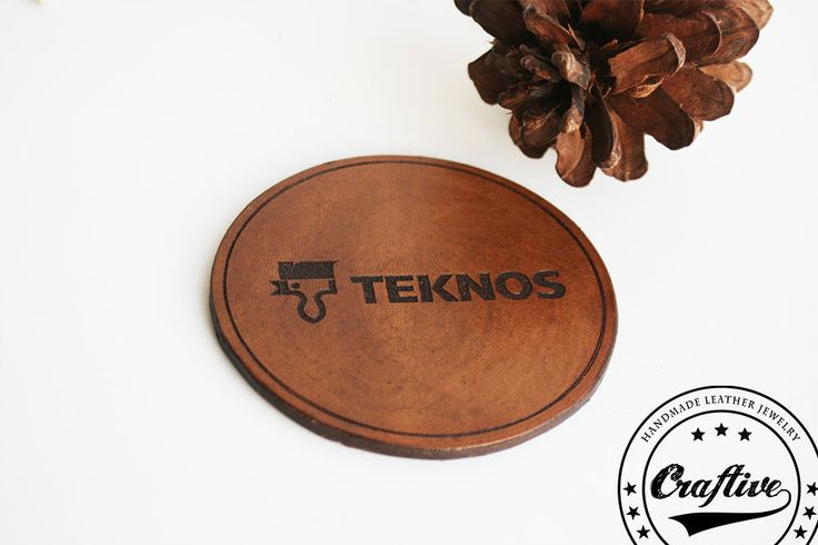 Company Costumers Christmas gift,Custom Logo Leather coasters,Personalized business brand