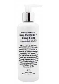The Aromatherapy Co Rose, Patchouli & Ylang Ylang Body Oil 200ml