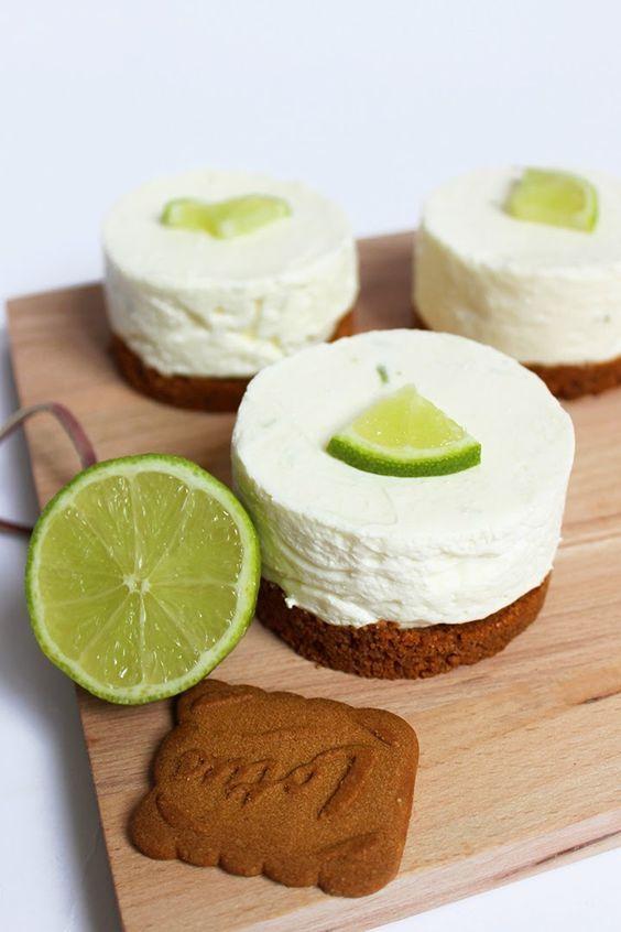 Blog Cuisine & DIY Bordeaux - Bonjour Darling - Anne-Laure: Mini Cheesecake Citron Vert @bonjourdarling ♥ #epinglercpartager