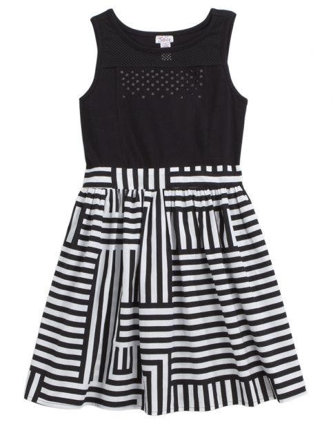 Striped Fit & Flare Dress | Girls Clearance Dresses Sale & Clearance | Shop Justice clothes for fatou