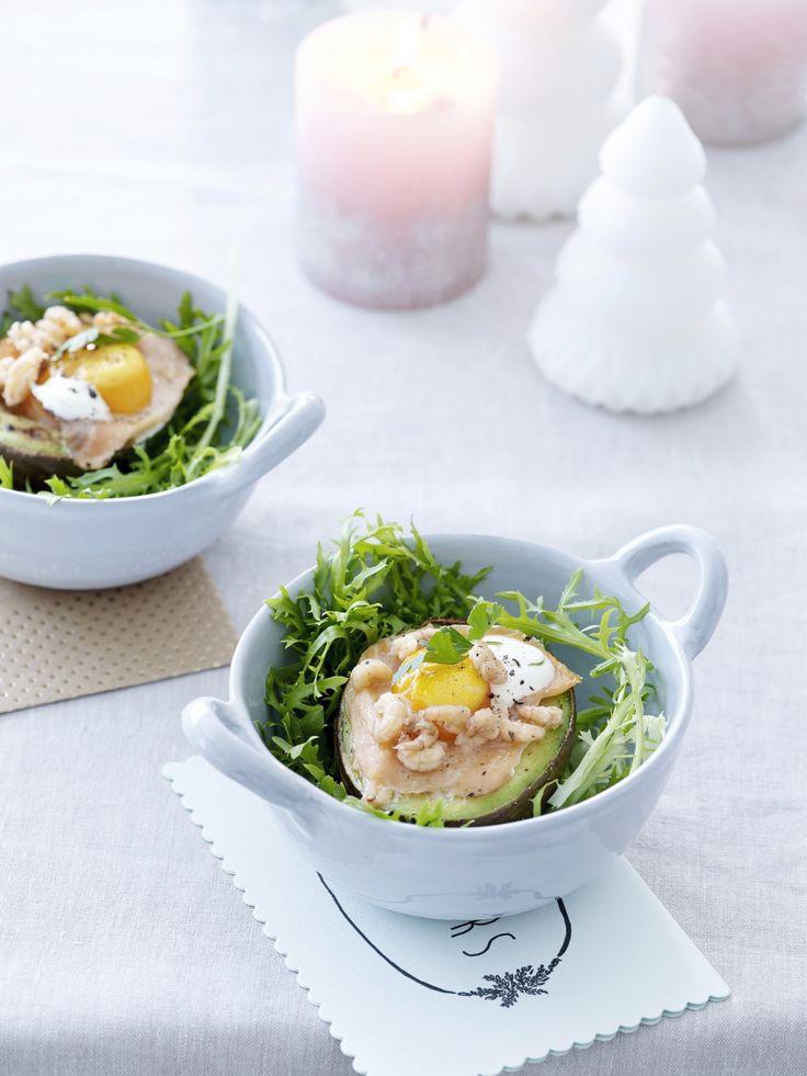 Gevulde avocado met gerookte zalm uit de oven - Libelle Lekker