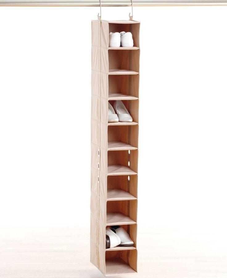 Neatfreak Shoe Rack, 10 Pair ClosetMAX Closet Shelf Organizer