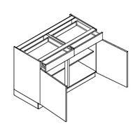 onderkast-2 laden-2 deuren-h78xb90xd57,5cm