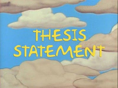 What would be a good way to write a thesis statement for an expository essay?