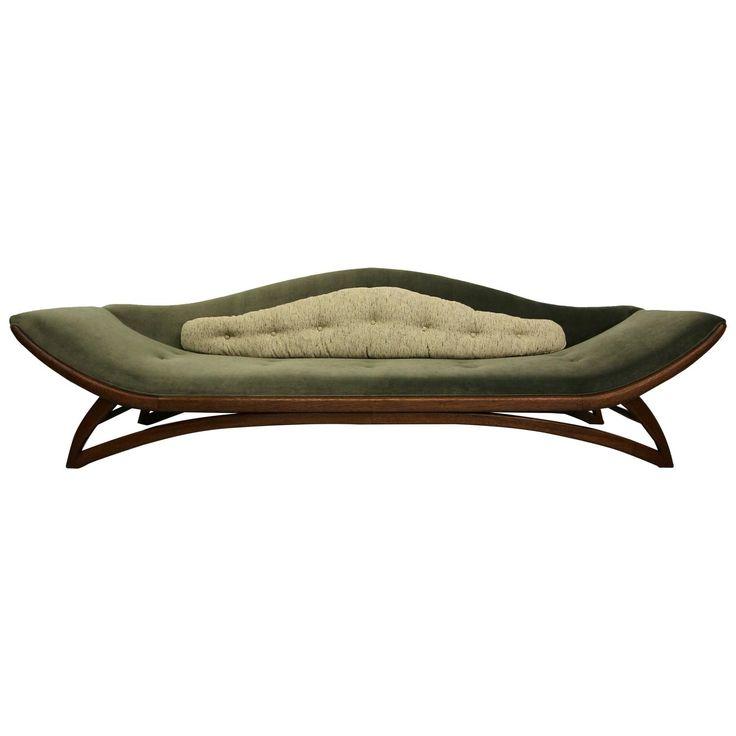 Mid Century Gondola Sofa. Modern ...