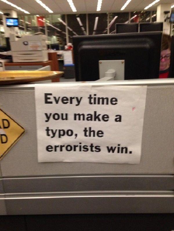 Whatever You Do Dont Make A Typo! http://techmash.co.uk/2013/11/24/whatever-you-do-dont-make-a-typo/
