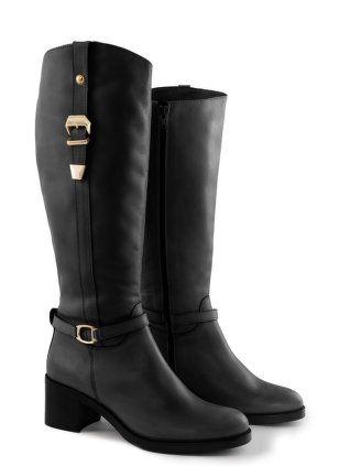 Jilsen Quality Boots - Kalbslederstiefel mit Schnallen