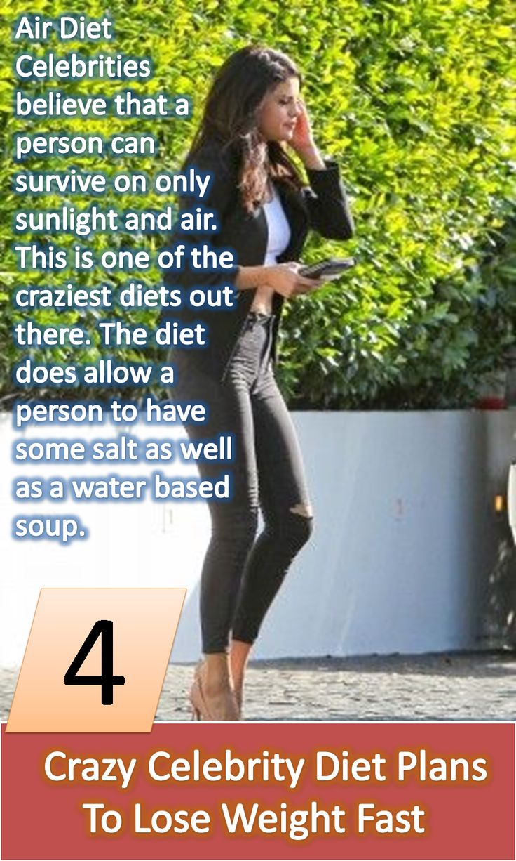 7 Celebrity Weight-Loss Secrets We Totally Approve Of