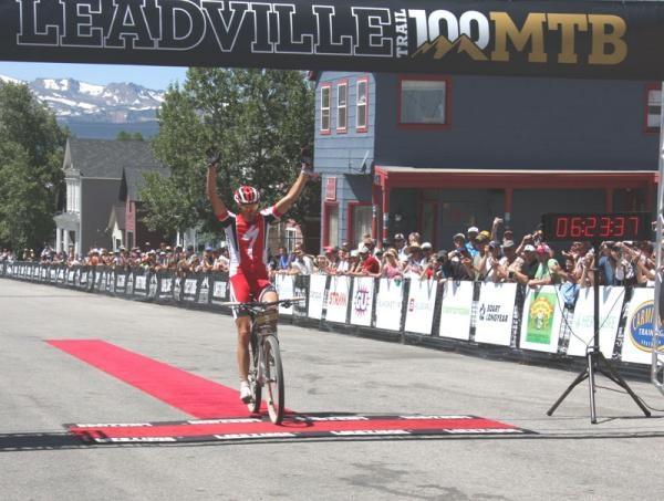2011 Leadville Champion, Todd Wells: Photo