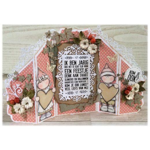Dutch Doobadoo Card Art Template - Stand Up 713303