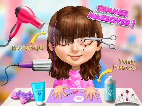 Sweet Baby Girl Summer Fun mimics a role-playing app for young children. Join the sweet baby girls at the boardwalk, as they experience some of the joys of summer.  Read more: http://www.funeducationalapps.com/2015/09/sweet-baby-girls-summer-fun-cool-role-playing-app-for-kids-review.html#ixzz3lixrrQFO