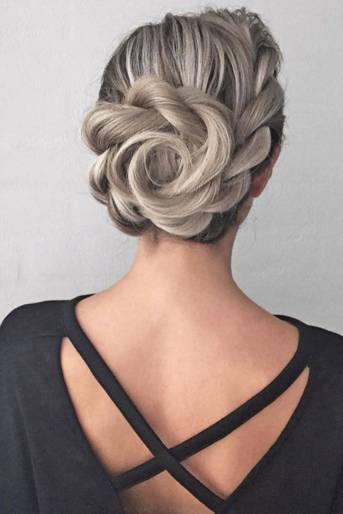 Prom Hairdos For Medium Length Hair : Best 25 medium length updo ideas on pinterest