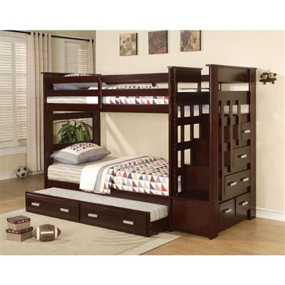35 Best Bunk Beds With Trundle Images On Pinterest 3 4