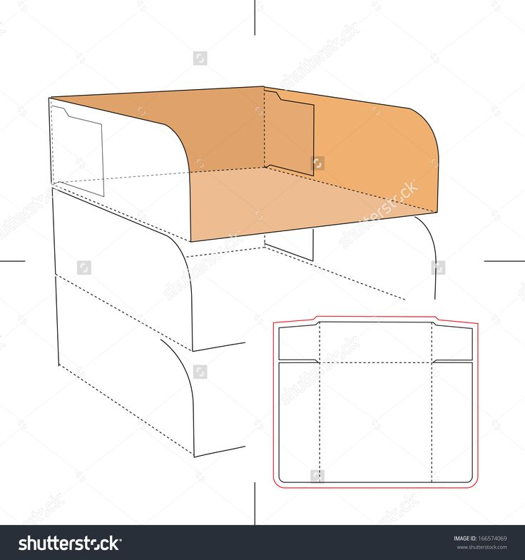 29 best all paper crafts misc display box templates images on tray with blueprint layout stock vector illustration 166574069 shutterstock malvernweather Images