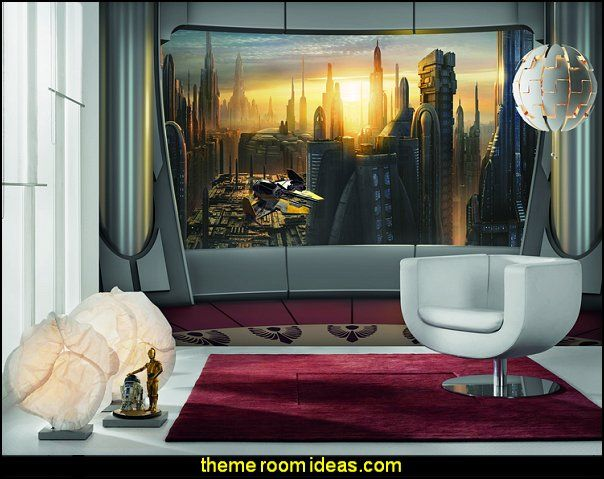 Star Wars Bedroom Ideas Star Wars Room Decor Star Wars Furniture Star Wars Wall Murals Star Wars Wall Decals Star Wars Bed Space Ships Theme Beds