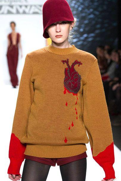 madsharald:  Michelle Lesniak ...always liked this bleeding heart sweater!