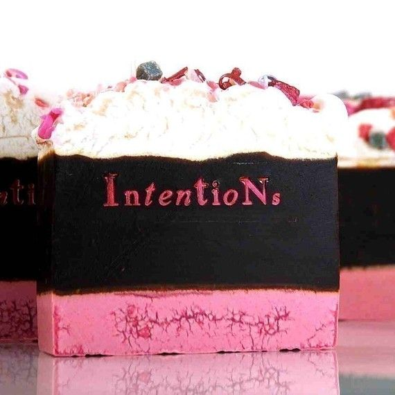 Pink Sugar Natural Soap Bar by Intentions on Etsy, $6.75