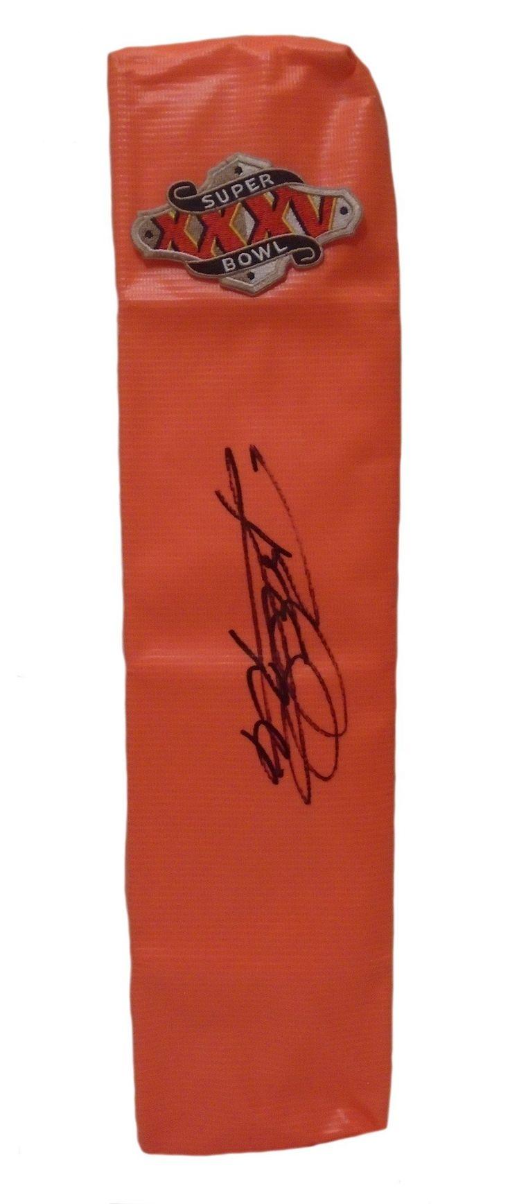 Rod Woodson Autographed Baltimore Ravens Fullsize Football End Zone Touchdown Pylon, Proof