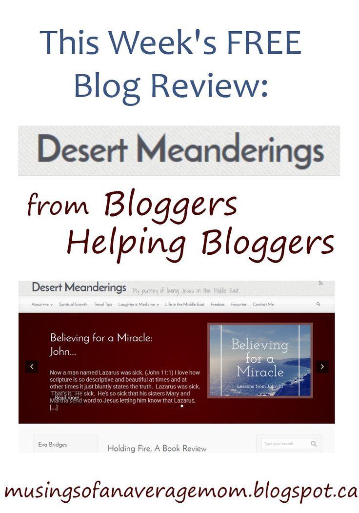 Musings of an Average Mom: Desert Meandering Review