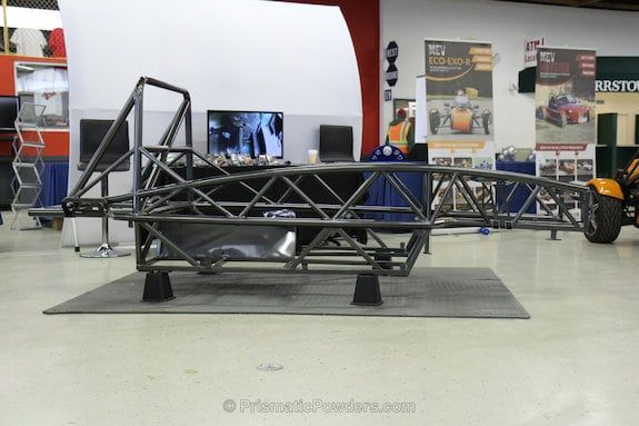 The Exocet is designed by Exomotive in Atlanta GA and uses Miata donor components with
