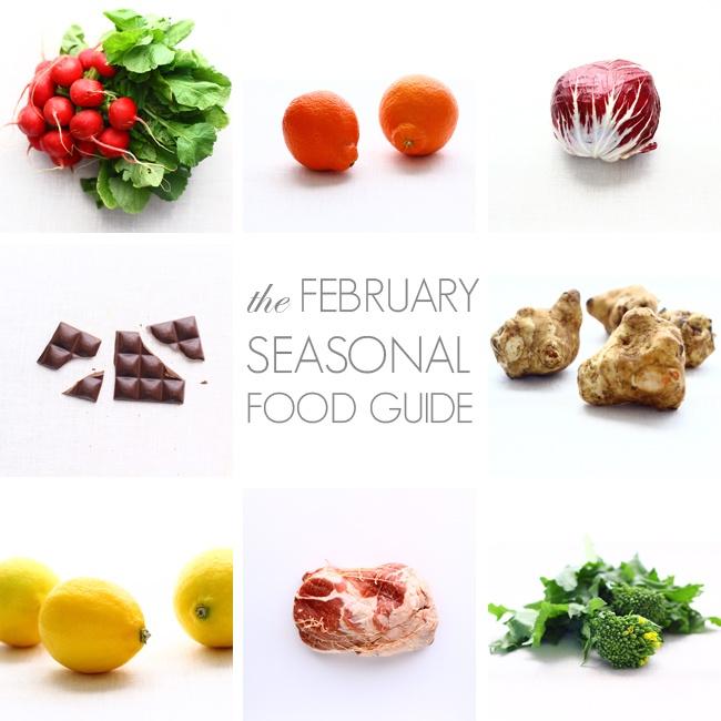 13 best seasonal food guides images on pinterest seasonal food february seasonal food guide forumfinder Images