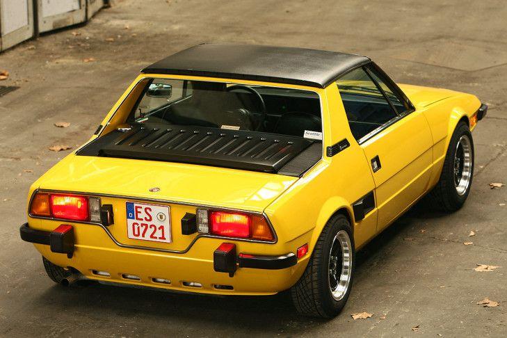Bilder: Fiat X1/9 - Bilder - autobild.de