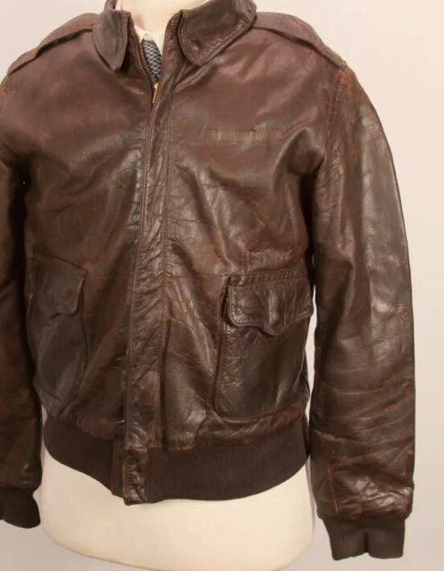 d11b79d82 Original Rough Wear 27752 A-2 | Leather Flight Jackets in 2019 ...