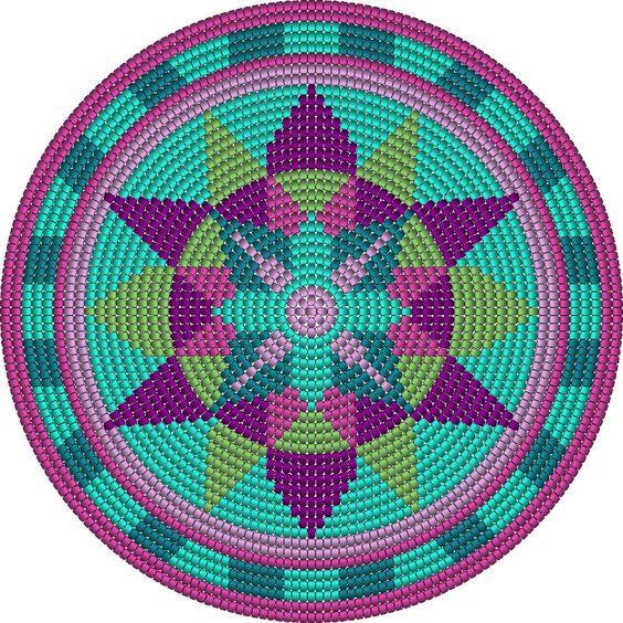 ergahandmade: 17 Best Motifs about Croche Wayuu, Tapestry + Video Tutorials