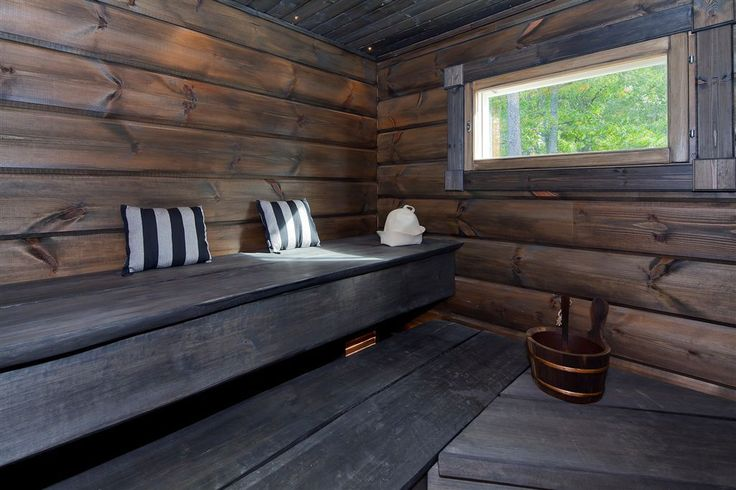 A M A Z I N G sauna! We'll definitely make ours like this!